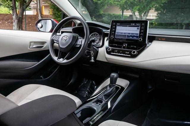 Used 2020 Toyota Corolla LE for sale $19,295 at Gravity Autos Atlanta in Chamblee GA 30341 7