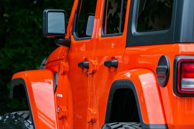 Used 2019 Jeep Wrangler Unlimited Sahara for sale $51,995 at Gravity Autos Atlanta in Chamblee GA 30341 39