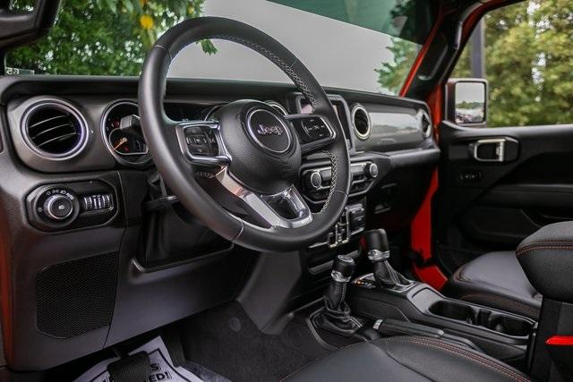 Used 2019 Jeep Wrangler Unlimited Sahara for sale $51,995 at Gravity Autos Atlanta in Chamblee GA 30341 8