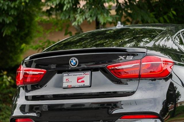 Used 2018 BMW X6 xDrive35i for sale $49,695 at Gravity Autos Atlanta in Chamblee GA 30341 43