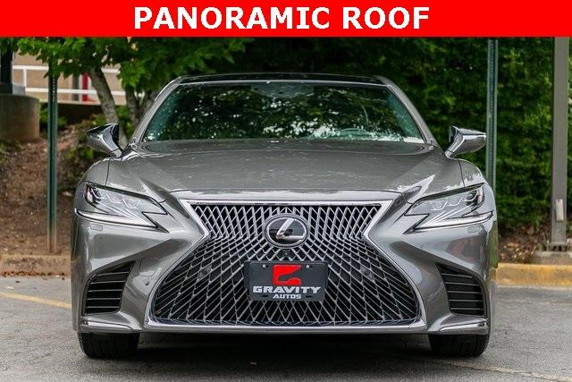 Used 2019 Lexus LS 500 Base for sale $67,985 at Gravity Autos Atlanta in Chamblee GA 30341 2