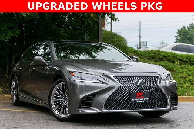 Used 2019 Lexus LS 500 Base for sale $67,985 at Gravity Autos Atlanta in Chamblee GA 30341 3