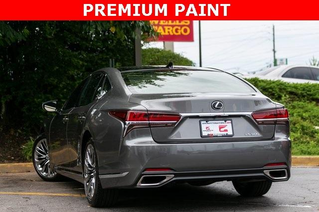 Used 2019 Lexus LS 500 Base for sale $67,985 at Gravity Autos Atlanta in Chamblee GA 30341 40