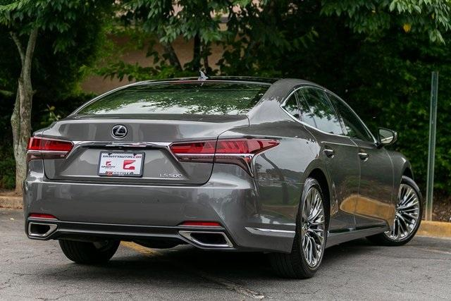 Used 2019 Lexus LS 500 Base for sale $67,985 at Gravity Autos Atlanta in Chamblee GA 30341 43