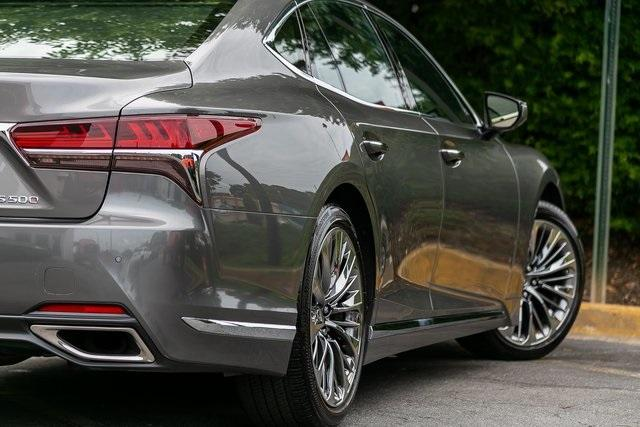 Used 2019 Lexus LS 500 Base for sale $67,985 at Gravity Autos Atlanta in Chamblee GA 30341 44