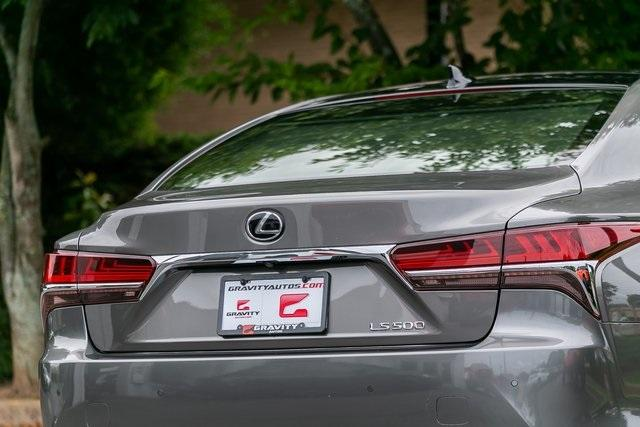 Used 2019 Lexus LS 500 Base for sale $67,985 at Gravity Autos Atlanta in Chamblee GA 30341 45
