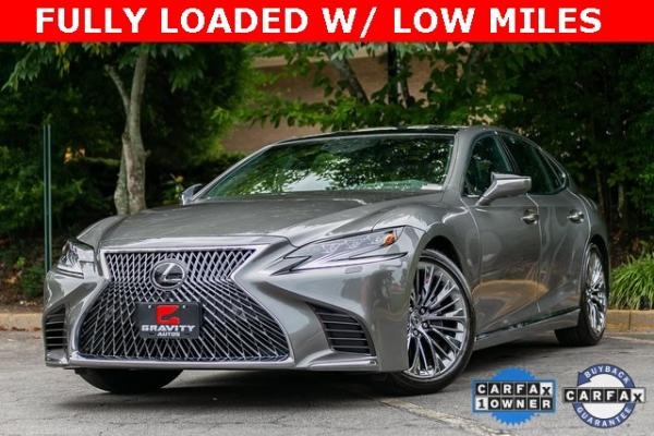 Used Used 2019 Lexus LS 500 Base for sale $67,985 at Gravity Autos Atlanta in Chamblee GA