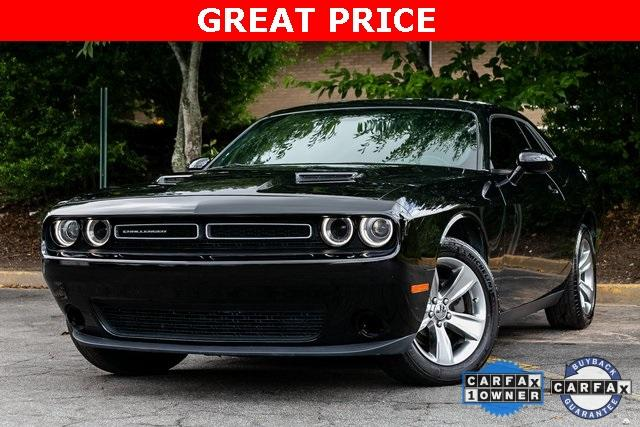Used 2018 Dodge Challenger SXT for sale $25,699 at Gravity Autos Atlanta in Chamblee GA 30341 1