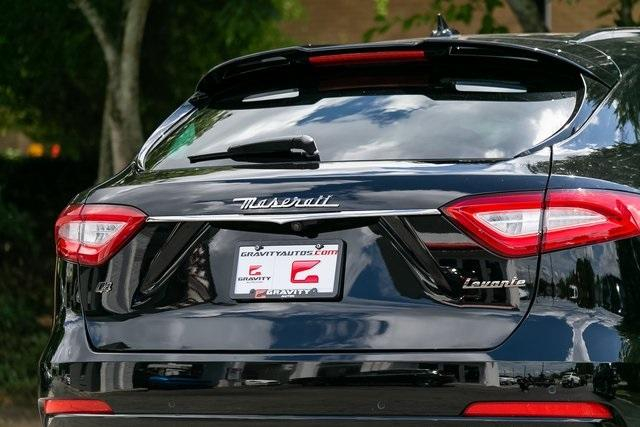 Used 2018 Maserati Levante GranSport for sale $54,995 at Gravity Autos Atlanta in Chamblee GA 30341 44