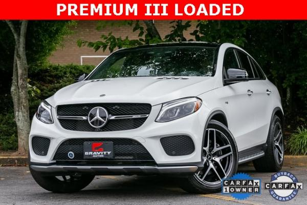 Used Used 2018 Mercedes-Benz GLE GLE 43 AMG Coupe for sale $64,995 at Gravity Autos Atlanta in Chamblee GA