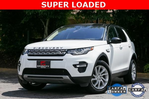 Used Used 2018 Land Rover Discovery Sport HSE for sale $33,795 at Gravity Autos Atlanta in Chamblee GA