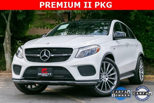 Used Used 2017 Mercedes-Benz GLE GLE 43 AMG Coupe for sale $58,495 at Gravity Autos Atlanta in Chamblee GA