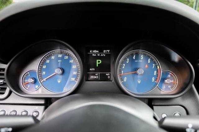 Used 2013 Maserati Quattroporte S for sale $35,995 at Gravity Autos Atlanta in Chamblee GA 30341 19
