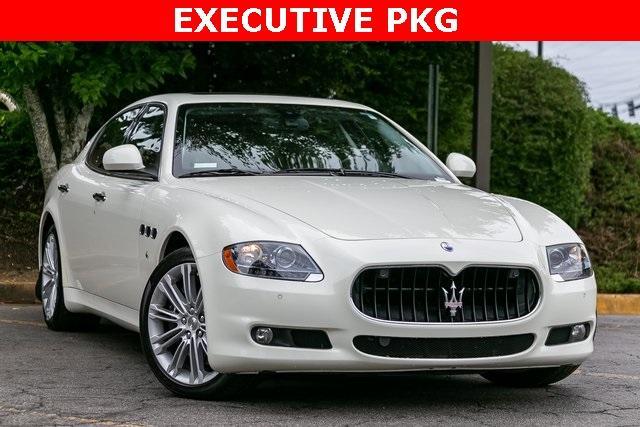 Used 2013 Maserati Quattroporte S for sale $35,995 at Gravity Autos Atlanta in Chamblee GA 30341 3