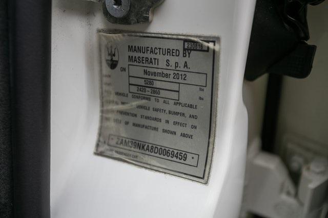 Used 2013 Maserati Quattroporte S for sale $35,995 at Gravity Autos Atlanta in Chamblee GA 30341 34