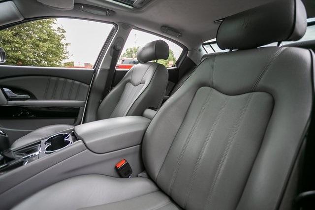 Used 2013 Maserati Quattroporte S for sale $35,995 at Gravity Autos Atlanta in Chamblee GA 30341 35