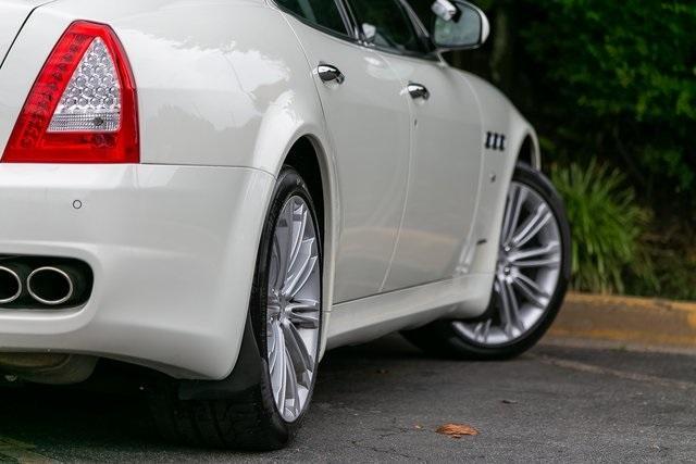 Used 2013 Maserati Quattroporte S for sale $35,995 at Gravity Autos Atlanta in Chamblee GA 30341 47