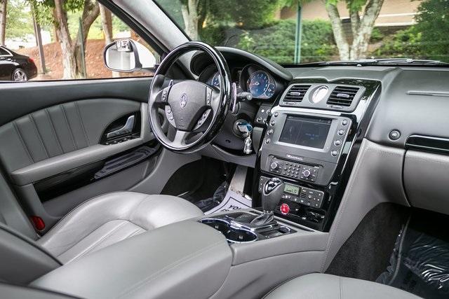 Used 2013 Maserati Quattroporte S for sale $35,995 at Gravity Autos Atlanta in Chamblee GA 30341 7