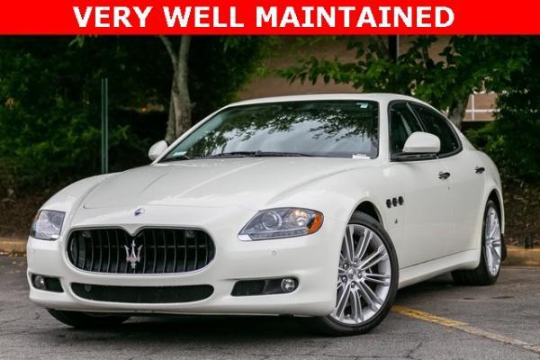 Used Used 2013 Maserati Quattroporte S for sale $35,995 at Gravity Autos Atlanta in Chamblee GA