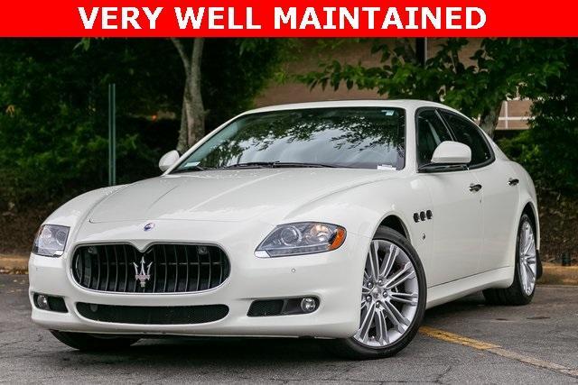 Used 2013 Maserati Quattroporte S for sale $35,995 at Gravity Autos Atlanta in Chamblee GA 30341 1