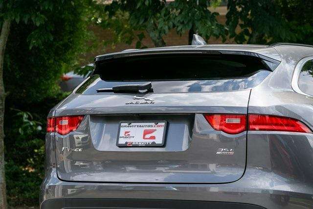 Used 2017 Jaguar F-PACE 35t Prestige for sale Sold at Gravity Autos Atlanta in Chamblee GA 30341 44