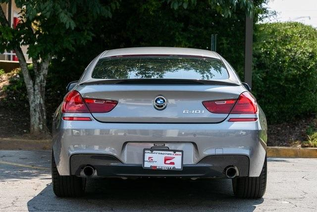 Used 2016 BMW 6 Series 640i Gran Coupe for sale Sold at Gravity Autos Atlanta in Chamblee GA 30341 40