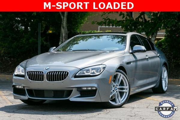 Used Used 2016 BMW 6 Series 640i Gran Coupe for sale $40,995 at Gravity Autos Atlanta in Chamblee GA