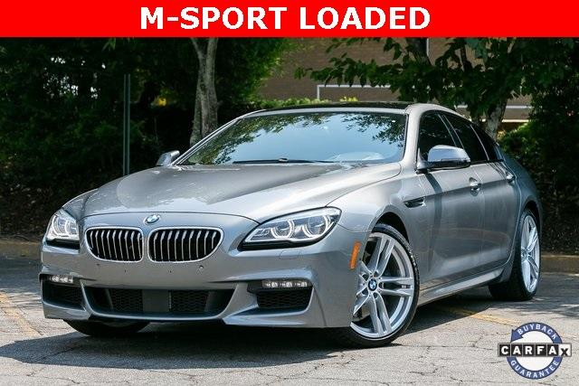 Used 2016 BMW 6 Series 640i Gran Coupe for sale Sold at Gravity Autos Atlanta in Chamblee GA 30341 1