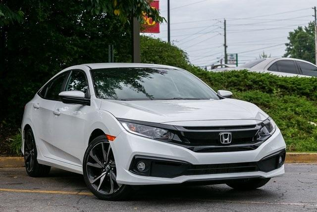Used 2020 Honda Civic Sport for sale Sold at Gravity Autos Atlanta in Chamblee GA 30341 3