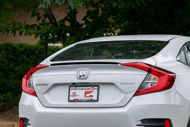 Used 2020 Honda Civic Sport for sale Sold at Gravity Autos Atlanta in Chamblee GA 30341 34