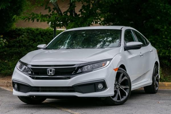 Used Used 2020 Honda Civic Sport for sale $23,495 at Gravity Autos Atlanta in Chamblee GA
