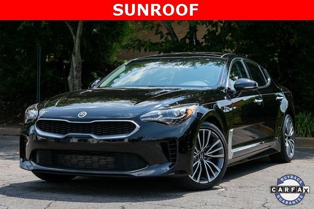 Used 2018 Kia Stinger Premium for sale Sold at Gravity Autos Atlanta in Chamblee GA 30341 1