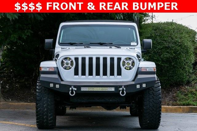 Used 2018 Jeep Wrangler Unlimited Sahara for sale $44,495 at Gravity Autos Atlanta in Chamblee GA 30341 2