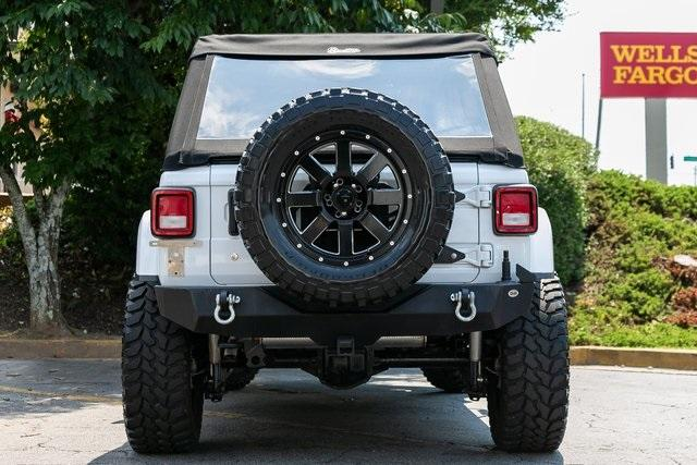 Used 2018 Jeep Wrangler Unlimited Sahara for sale $44,495 at Gravity Autos Atlanta in Chamblee GA 30341 34