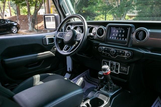 Used 2018 Jeep Wrangler Unlimited Sahara for sale $44,495 at Gravity Autos Atlanta in Chamblee GA 30341 7