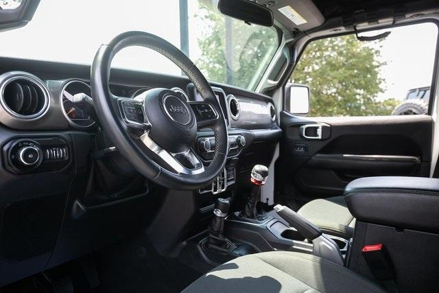 Used 2018 Jeep Wrangler Unlimited Sahara for sale $44,495 at Gravity Autos Atlanta in Chamblee GA 30341 8