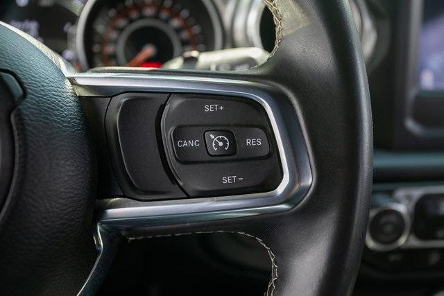 Used 2018 Jeep Wrangler Unlimited Sahara for sale $44,495 at Gravity Autos Atlanta in Chamblee GA 30341 9