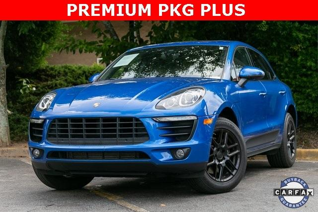 Used 2018 Porsche Macan Base for sale $42,245 at Gravity Autos Atlanta in Chamblee GA 30341 1