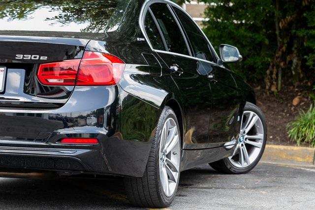 Used 2018 BMW 3 Series 330e iPerformance for sale $27,495 at Gravity Autos Atlanta in Chamblee GA 30341 42