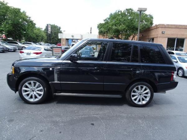 Used 2012 Land Rover Range Rover SC for sale Sold at Gravity Autos in Roswell GA 30076 4
