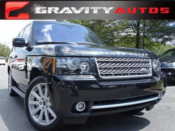 Used 2012 Land Rover Range Rover SC for sale Sold at Gravity Autos in Roswell GA 30076 1
