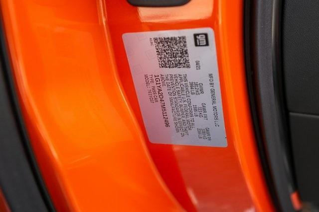 Used 2021 Chevrolet Corvette Stingray for sale $92,495 at Gravity Autos Atlanta in Chamblee GA 30341 35