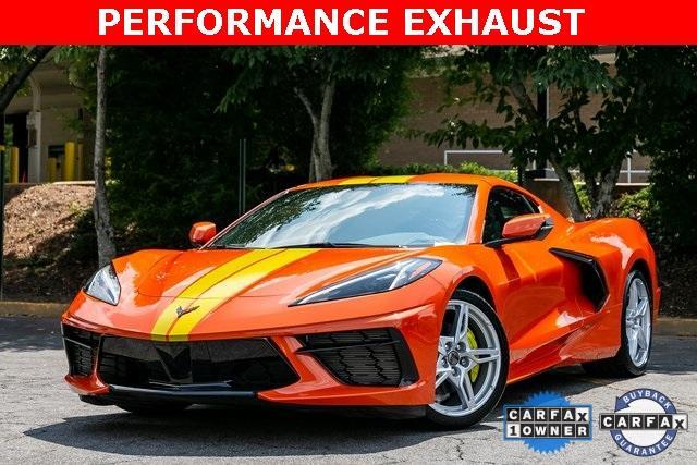 Used 2021 Chevrolet Corvette Stingray for sale $92,495 at Gravity Autos Atlanta in Chamblee GA 30341 1