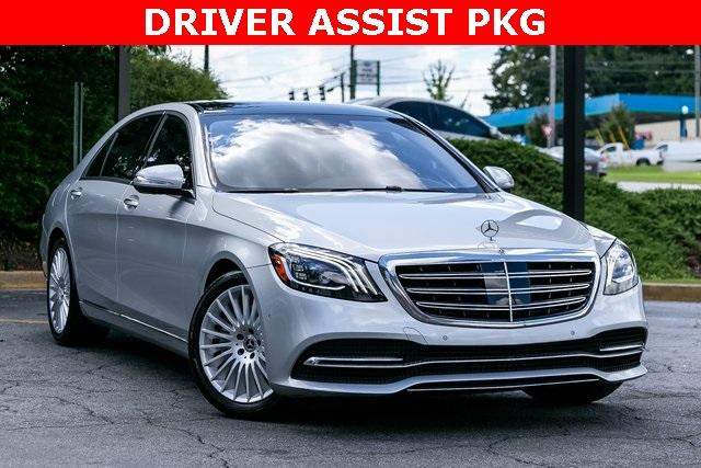 Used 2018 Mercedes-Benz S-Class S 560 for sale $72,489 at Gravity Autos Atlanta in Chamblee GA 30341 3