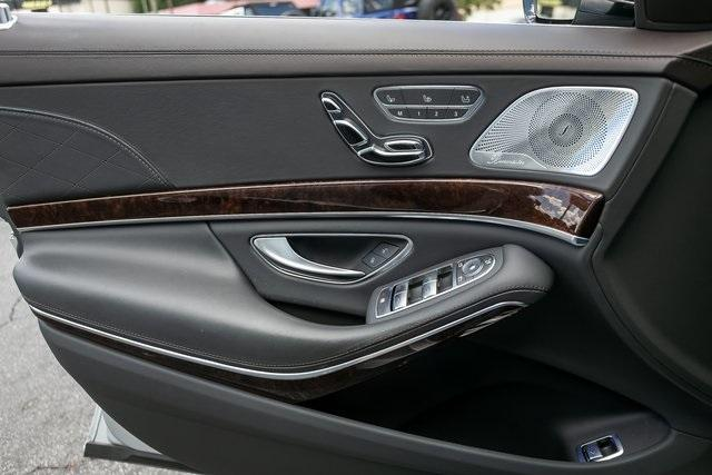 Used 2018 Mercedes-Benz S-Class S 560 for sale $72,489 at Gravity Autos Atlanta in Chamblee GA 30341 31