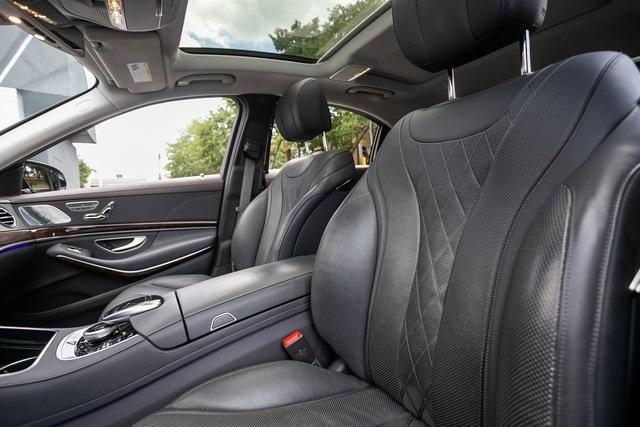 Used 2018 Mercedes-Benz S-Class S 560 for sale $72,489 at Gravity Autos Atlanta in Chamblee GA 30341 38