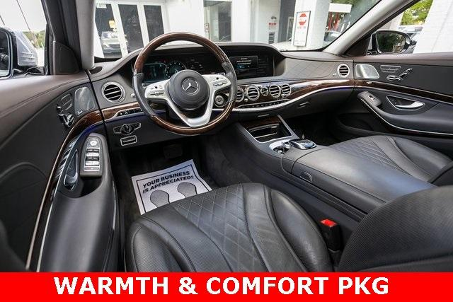 Used 2018 Mercedes-Benz S-Class S 560 for sale $72,489 at Gravity Autos Atlanta in Chamblee GA 30341 4