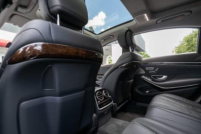 Used 2018 Mercedes-Benz S-Class S 560 for sale $72,489 at Gravity Autos Atlanta in Chamblee GA 30341 40