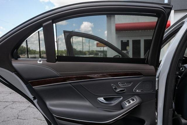 Used 2018 Mercedes-Benz S-Class S 560 for sale $72,489 at Gravity Autos Atlanta in Chamblee GA 30341 48