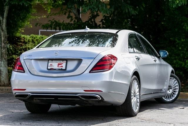 Used 2018 Mercedes-Benz S-Class S 560 for sale $72,489 at Gravity Autos Atlanta in Chamblee GA 30341 53